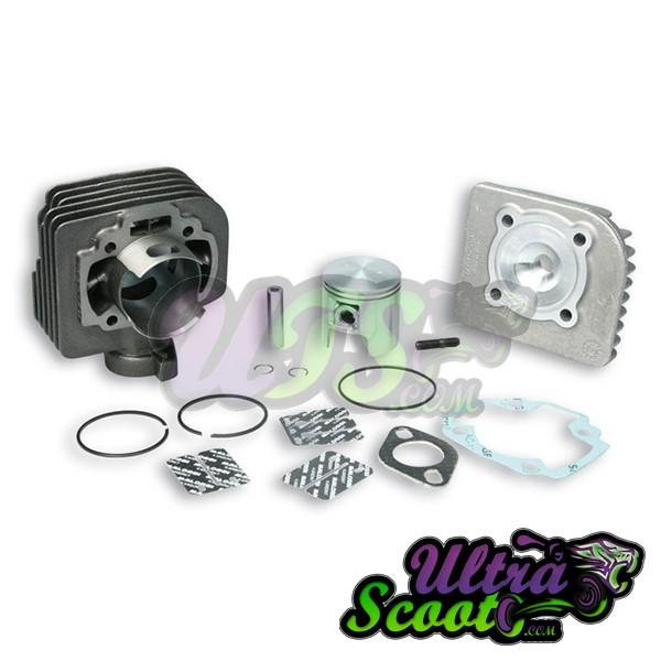 """Malossi Cylinder Kit """"Sport"""" 70cc Cast Iron 70cc 10mm (Morini/Tgb)"""