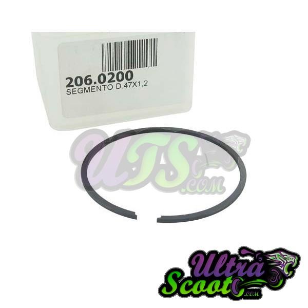 Piston Ring Kit Polini Sport 70cc cast-iron (47x1.2mm)