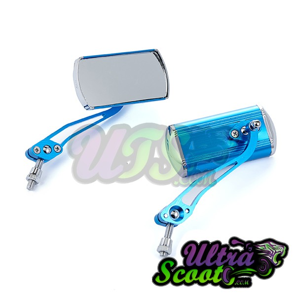 Miroir Forceone bleu anodized