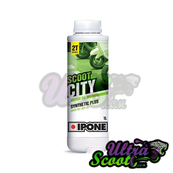 Ipone Oil 2T 100% Synthetic 1L Strawberry Smell