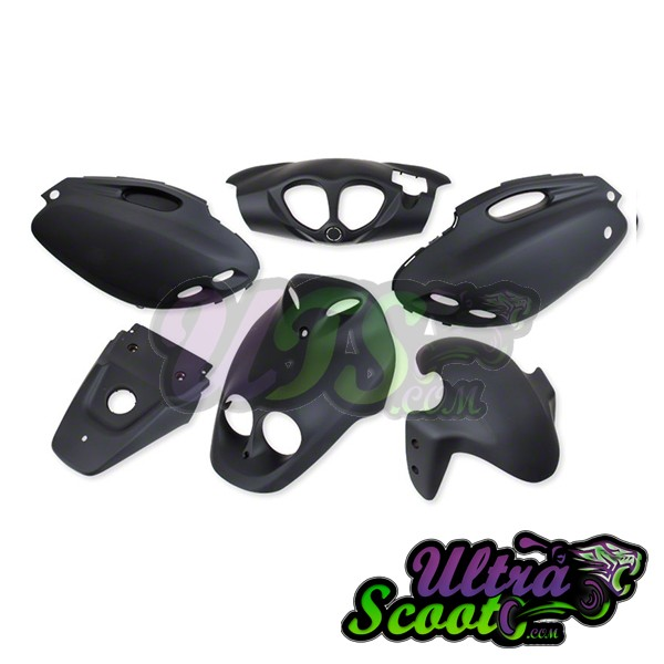 Complete Fairing kit PMX/Rattler/Roughouse Black Matte
