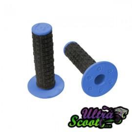 Handlebar Grips Torc1 Enduro MX Black/Blue