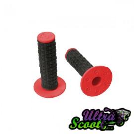 Handlebar Grips Torc1 Enduro MX Black/Red