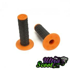 Handlebar Grips Torc1 Enduro MX Black/Orange