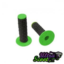 Handlebar Grips Torc1 Enduro MX Black/Green