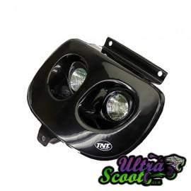 Twin headlights Tnt Black