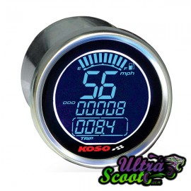 Speedometer Koso DL Style Universel (55mm)