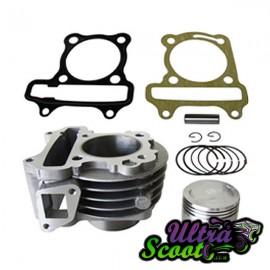Cylinder Kit Ncy Gy6 72cc - 50cc 139QMB│4T