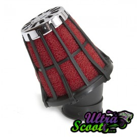 Airfilter Malossi E5 Red/Black (36/38mm)