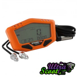 Speedometer Stage6 R/T Digital Orange