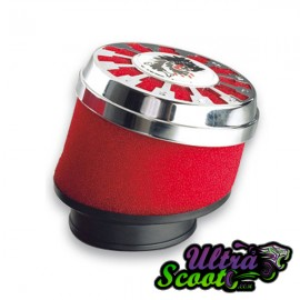 Airfilter Malossi E13 Red/Chrome (32-38mm)