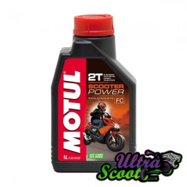 Motul Oil Scooter Power 100% Synthétic 2T Anti-Smoke