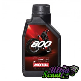 Motul Oil 800 Factory Off-Road 100% Synthétic 2T