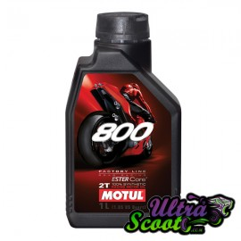 Motul Oil 800 Factory Line Road 100% Synthétic 2T