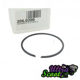 Piston Ring Kit Polini Sport 70cc cast-iron (47x1.2mm)