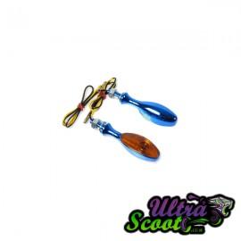 Flasher Forceone Bleu Type Goutte D'eau
