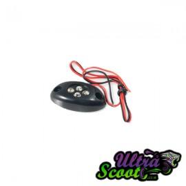 Flasher Stylepro lamp & 4 diode orange