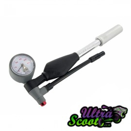 Hand pump Doppler for adjusting Doppler shock