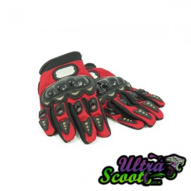 Gants forceone rouge