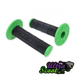 Handlebar Grips RFX BLACK/green