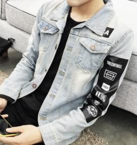 Manteau en jeans