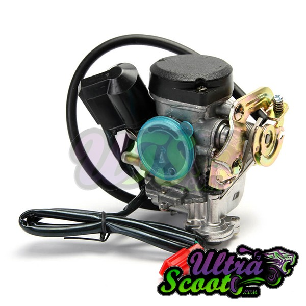Carburetor Gy6 CVK19mm 50cc-80cc 139QMB│4T