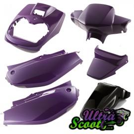 Body Kit Cover Yamaha Bw's/Zuma 02-11 Purple Cyber