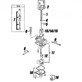 Carburretor Pwk Explode (Replacement Parts)